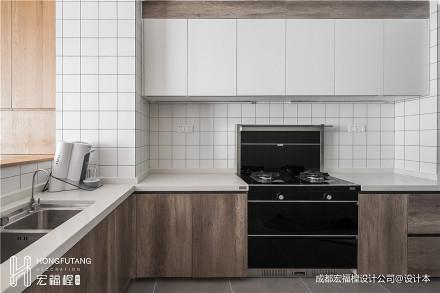 浪漫113平混搭三居厨房装饰图片餐厅