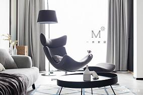 明亮83平现代二居装饰图片二居现代简约家装装修案例效果图
