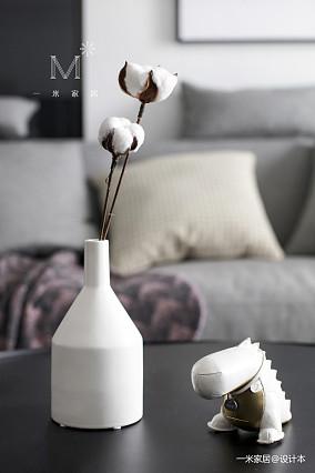 精致88平现代二居效果图欣赏二居现代简约家装装修案例效果图