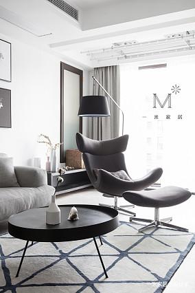 简洁67平现代二居设计美图二居现代简约家装装修案例效果图