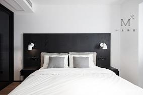 简洁84平现代二居卧室装潢图二居现代简约家装装修案例效果图