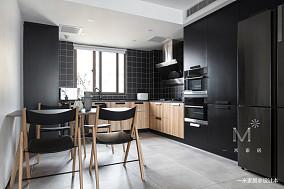 轻奢60平现代二居厨房美图二居现代简约家装装修案例效果图