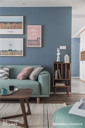 典雅103平北欧三居客厅装修设计图