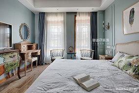 优雅658平法式别墅卧室效果图欣赏