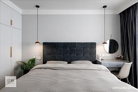 简洁22平北欧小户型卧室实景图片