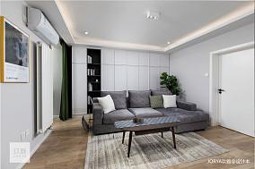 优雅30平北欧小户型客厅装饰图片