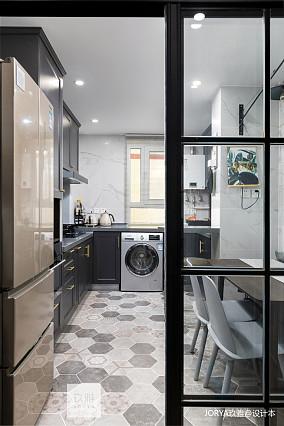 悠雅38平北欧小户型厨房图片欣赏