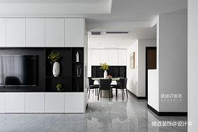 精美139平现代四居客厅装饰图片