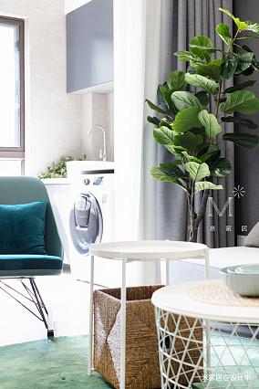 精美67平现代二居图片欣赏家装装修案例效果图