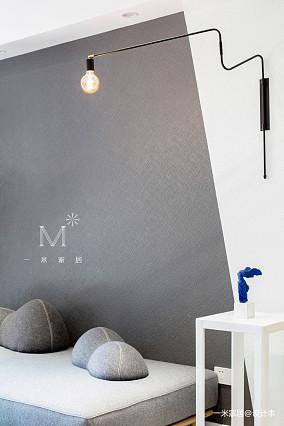 华丽57平现代二居图片欣赏家装装修案例效果图