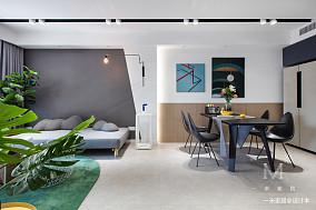 明亮63平现代二居客厅设计案例二居现代简约家装装修案例效果图