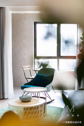 优美51平现代二居装修案例二居现代简约家装装修案例效果图
