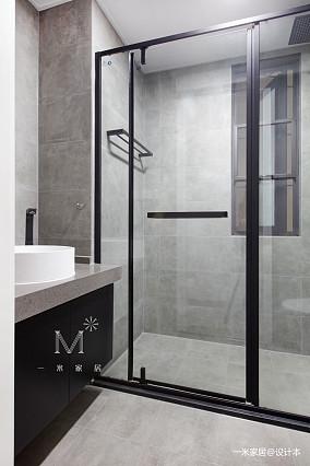 浪漫67平现代二居卫生间装饰图片二居现代简约家装装修案例效果图