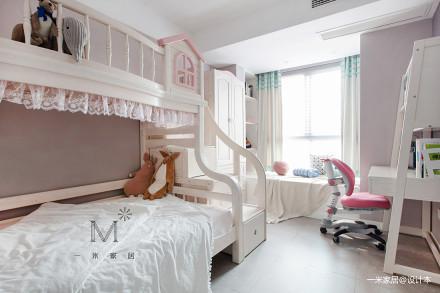 华丽88平现代二居儿童房装饰图片