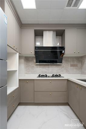 典雅107平美式三居厨房装潢图