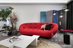 华丽71平现代三居客厅设计图三居现代简约家装装修案例效果图