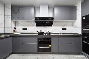 240㎡现代北欧厨房设计图片三居现代简约家装装修案例效果图