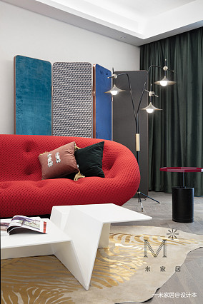 优美118平现代三居装修设计图三居现代简约家装装修案例效果图