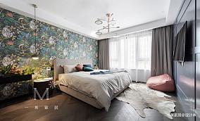优美100平现代三居卧室图片欣赏三居现代简约家装装修案例效果图