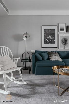 精美130平混搭三居客厅设计案例