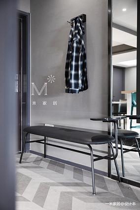 明亮83平现代二居玄关设计图二居现代简约家装装修案例效果图