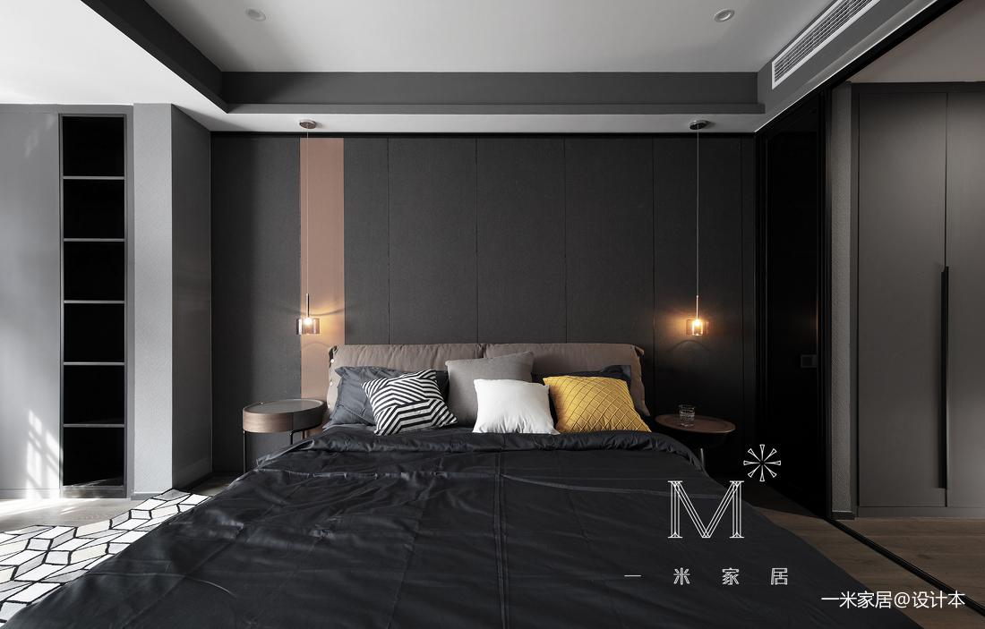 简洁53平现代二居卧室设计美图二居现代简约家装装修案例效果图