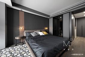 温馨73平现代二居卧室装修美图二居现代简约家装装修案例效果图