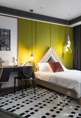 典雅72平现代二居儿童房装饰图片二居现代简约家装装修案例效果图