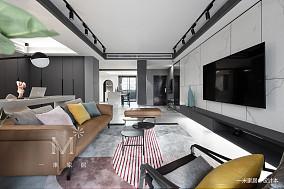 优雅65平现代二居客厅实拍图二居现代简约家装装修案例效果图