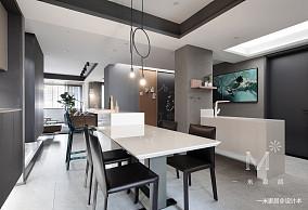 浪漫84平现代二居餐厅装修设计图二居现代简约家装装修案例效果图