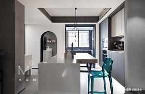 精致74平现代二居餐厅设计图二居现代简约家装装修案例效果图