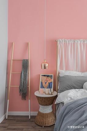 大气53平北欧二居卧室设计图二居北欧极简家装装修案例效果图