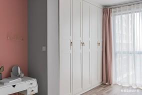 轻奢65平北欧二居卧室设计案例二居北欧极简家装装修案例效果图