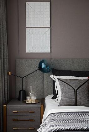 平现代别墅卧室装修案例别墅豪宅现代简约家装装修案例效果图