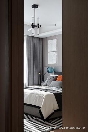 温馨835平现代别墅卧室装修案例别墅豪宅现代简约家装装修案例效果图