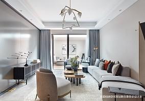 浪漫898平现代别墅客厅布置图别墅豪宅现代简约家装装修案例效果图