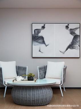 华丽840平现代别墅休闲区实景图别墅豪宅现代简约家装装修案例效果图