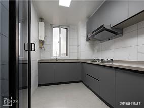 极简空间现代厨房设计图