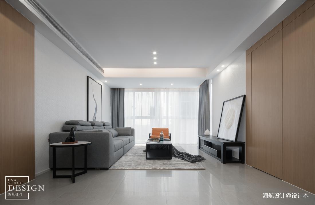 极简空间现代客厅实景图片客厅现代简约客厅设计图片赏析