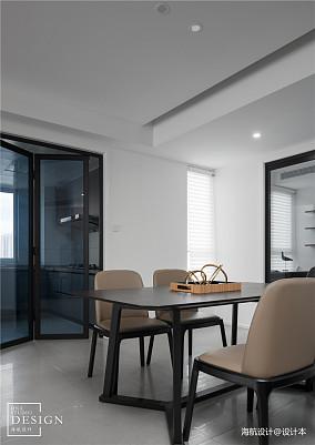 明亮118平现代四居餐厅装饰图片