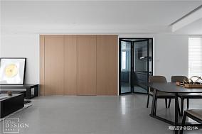 简洁112平现代四居客厅实景图片