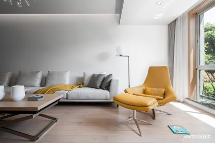 优雅450平现代复式客厅设计美图复式现代简约家装装修案例效果图