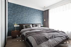 简洁96平现代三居卧室装饰图片三居现代简约家装装修案例效果图