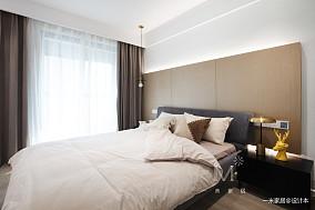 大气98平现代三居卧室装修装饰图三居现代简约家装装修案例效果图