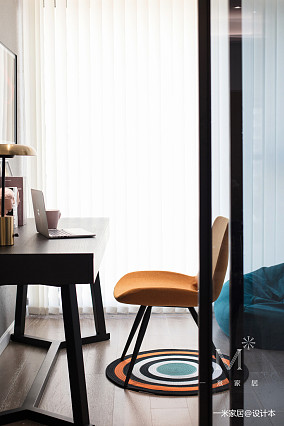 华丽108平现代三居装修案例三居现代简约家装装修案例效果图