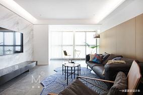 精致107平现代三居客厅装修图片三居现代简约家装装修案例效果图