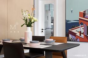 【一米家居】静谧时光138㎡现代简约三居现代简约家装装修案例效果图
