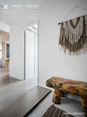 明亮29平日式小户型玄关图片大全一居日式家装装修案例效果图