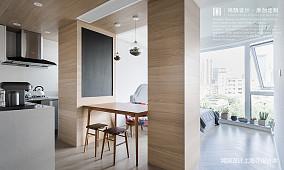 简洁60平日式小户型餐厅装修装饰图