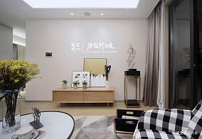 悠雅100平北欧三居客厅图片欣赏三居北欧极简家装装修案例效果图